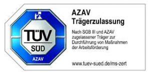 TÜV SÜD - AZAV Trägerzulassung